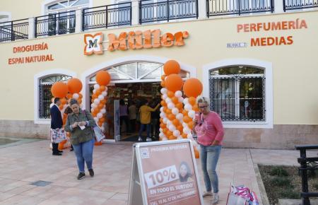 Der neue Müller-Markt befindet sich in Santa Ponça in der Gran Vía Puig des Castellet 3.