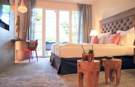 So sollen die Zimmer im Lindner-Resort nach der Renovierung aussehen.