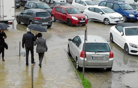 Andratx investiert in neue Parkplätze.