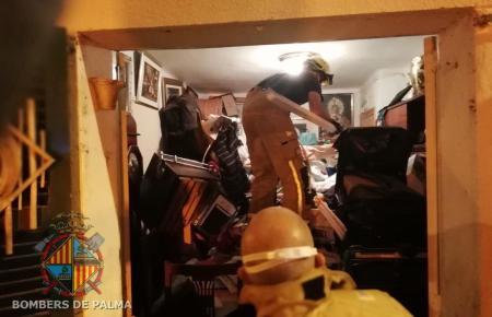 Die Feuerwehr hat ihren Einsatz dokumentiert.