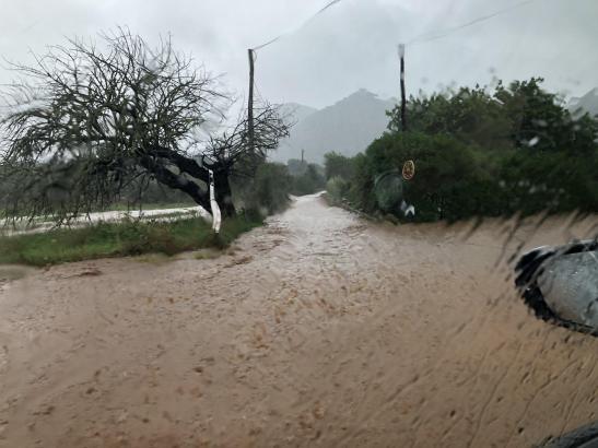So sah es am Montavormittag zwischen Artà und Capdepera aus.