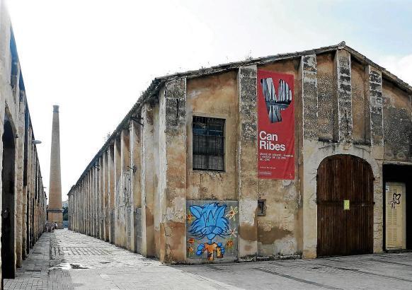 In der ehemaligen Textilfabrik Can Ribes soll in den kommen Monaten ein Kulturzentrum entstehen.