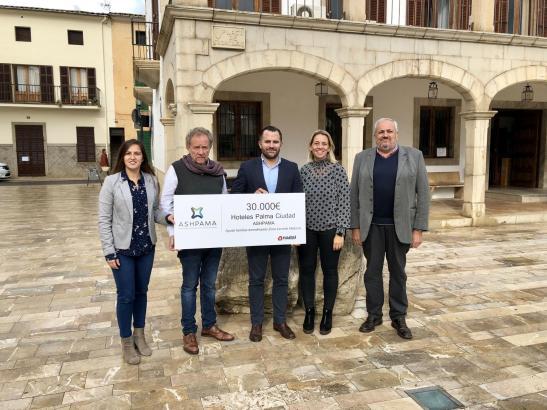 Der Hotelverband ASHPAMA vertritt 66 Stadthotels in Palma. Gemeinsam mit der Stadtverwaltung von Sant Llorenç haben die Mitglied