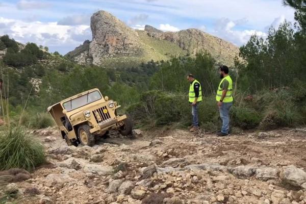 So ging es vom 16. bis 18. November im Mallorca-Gebirge zu.