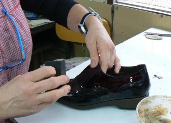 Die Produktion von Schuhen hat auf Mallorca immer noch eine wirtschaftliche Bedeutung.