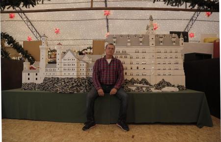 Holger Becker widmet Lego einen großen Teil seiner Freizeit.