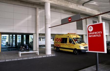 Der Eingang zur Kinderstation des Krankenhauses Son Espases.