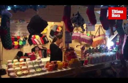 Der Weihnachtsmarkt im Bierkönig ist eröffnet.
