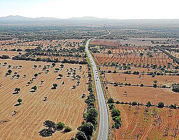Der Inselrat will die Landstraße nach Campos ausbauen.