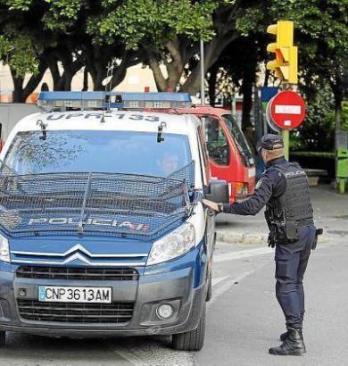 Die Polizei konnte den Messermann glücklicherweise schnell dingfest machen.