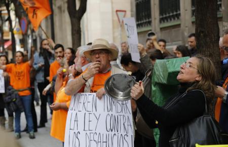 Immer wieder kam es in der Vergangenheit zu Protesten gegen Zwangsräumungen.
