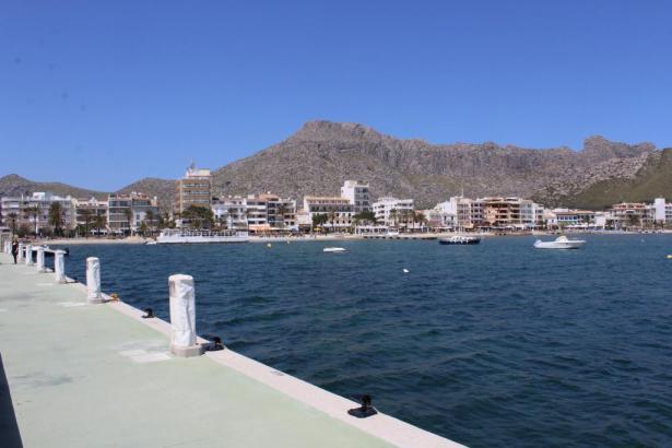 Blick auf Port de Pollença.