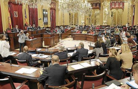 Plenum des Landes-Parlaments.