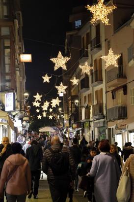 Palmas Straßen erstrahlen seit Ende November wieder in vorweihnachtlichem Glanz.