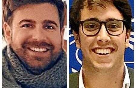 Luis López (links) und Gori Jaume.