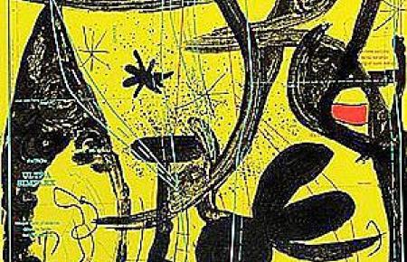 """""""Défilé de mannequins au Perou"""" von Joan Miró."""