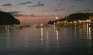 Abendstimmung im Hafen von Port de Soller