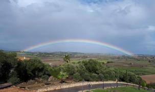 Regenbogen über Santa Margalida