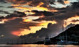 Gewitterstimmung in Port d'Andratx