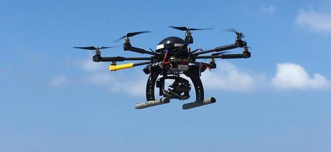 Drohne über Mallorca.