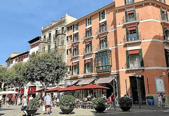 In Palma wurden in den vergangenen Jahren zahlreiche Boutique-Hotels eröffnet.