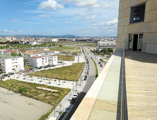 Viel Platz für neue Wohnungen. In Palmas Neubaugebiet Nou Llevant laufen derzeit mehrere Bauprojekte.