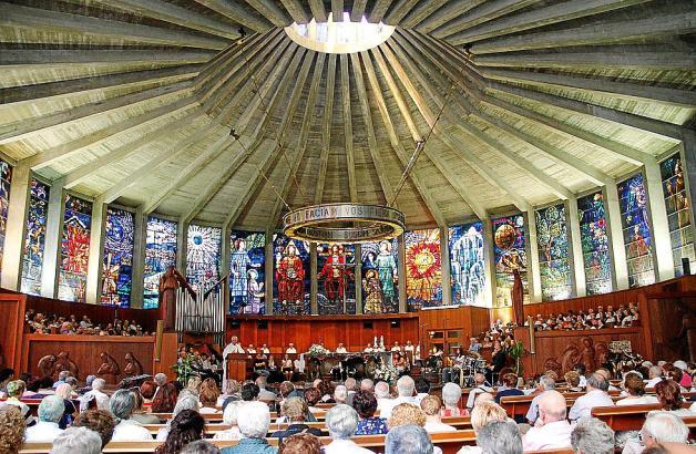 Die Kirche La Porciúncula in Arenal wird bei Tripadvisor als Top-Attraktion geführt.