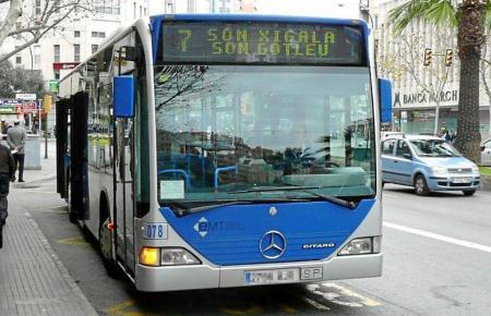 Bus der Stadtwerke von Palma.