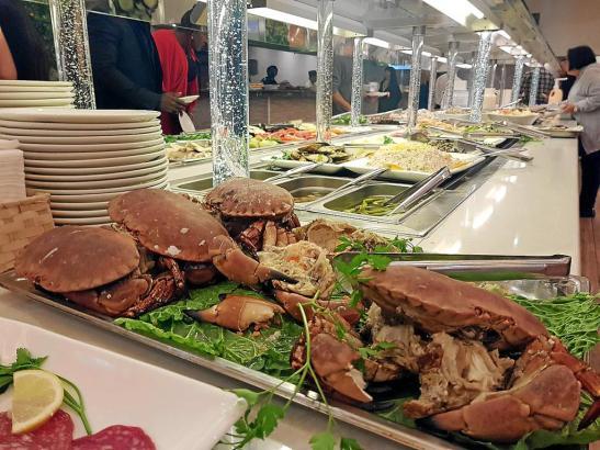 In den Restaurants wird darauf geachtet, den Gästen die Speisen optisch ansprechend zu präsentieren.