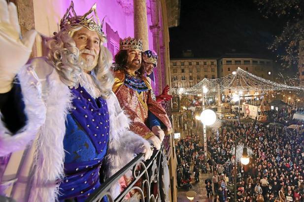 Die Heiligen Drei Könige bringen auf Mallorca, anders als in Deutschland, die Weihnachtsgeschenke.