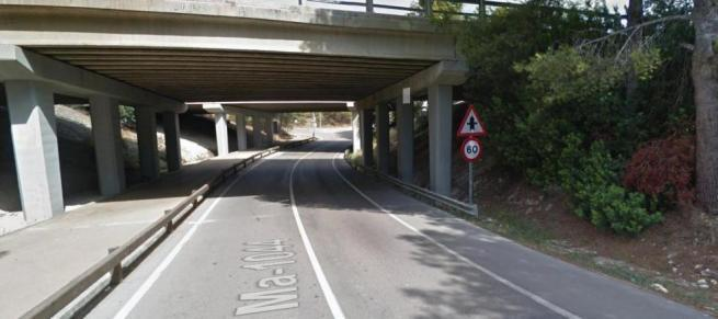 An dieser Stelle ereignete sich der Unfall.