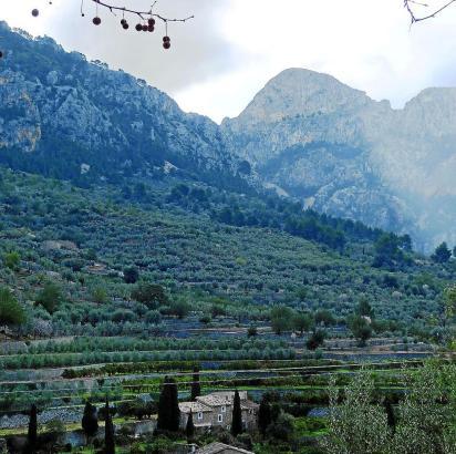 Der Gebirgszug Tramuntana auf Mallorca ist zom Inselrat zur Marke gekürt worden.