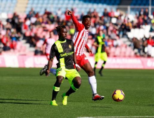 In Almería war für Real Mallorca (in den schwarz-gelben Trikots) nichts zu holen.