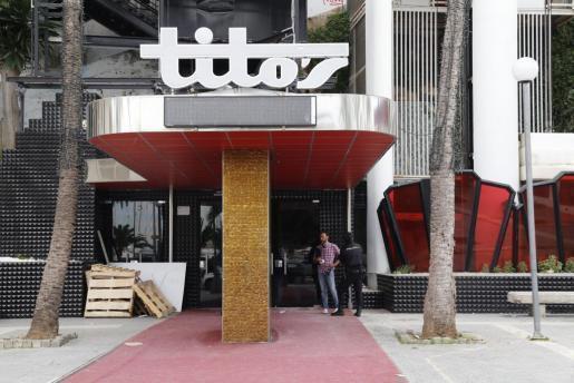 Das Tito's in Palma de Mallorca.