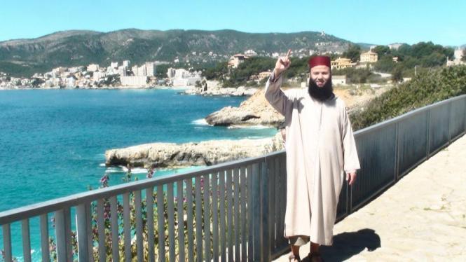 Hassprediger Tarik Ibn Ali auf Mallorca.