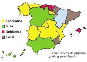 Noch hat die Grippe nicht ganz Spanien erreicht.