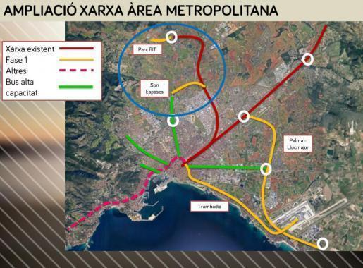 Künftig soll das Klinikum Son Espases besser an das öffentliche Nahverkehrsnetz angebunden werden.