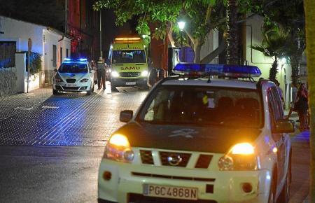 Die Guardia Civil stellte ein Großaufgebot auf die Beine.
