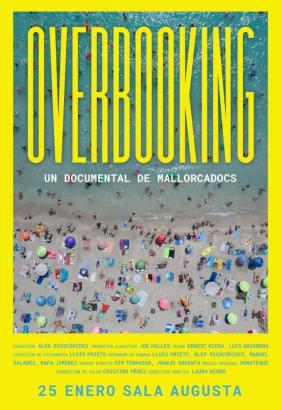 "Plakat des Dokumentarfilms ""Overbooking""."
