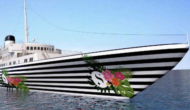 "So auffallend soll das ""Love Boat"" sein."