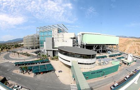 In der Müllverbrennungsanlage von Son Reus bei Palma werden die Abfälle aus ganz Mallorca zentral beseitigt.