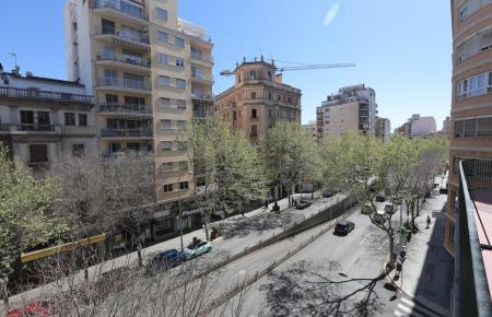 Die Avenida in Palma: Die Katasterwerte stiegen seit 2007 um 105,6 Prozent.