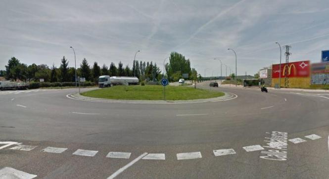 Nicht schön, aber praktisch: Kreisverkehr auf Mallorca.