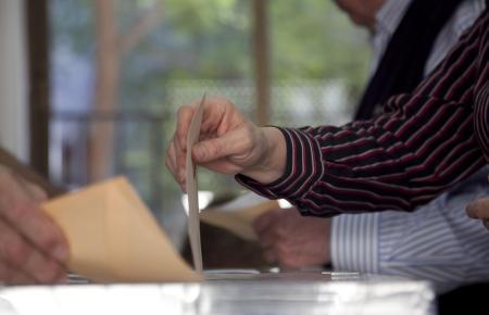Wahlurne auf Mallorca.