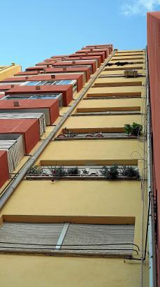 Seit den 50er Jahren schossen auch in Palma die Wohnblöcke in die Höhe. Der soziale Wohnungsbau von heute allerdings