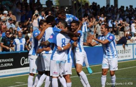 Jubel bei Mallorcas Inselklub Atlético Baleares.