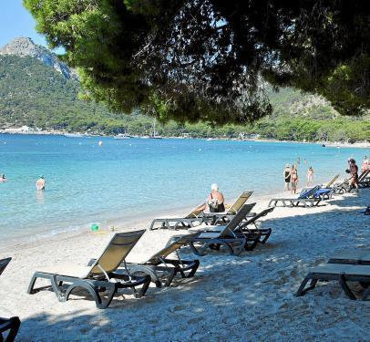 Die Playa Formentor auf Mallorca.