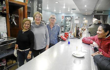 Das Team der Bar Mallorca.