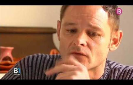 Romano van der Dussen nach seiner Haftentlassung.