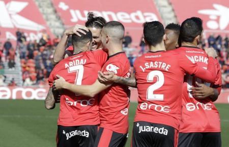 Schon kurz nach Spielbeginn konnten die Real-Mallorca-Kicker das 1;0 durch Aridai feiern.